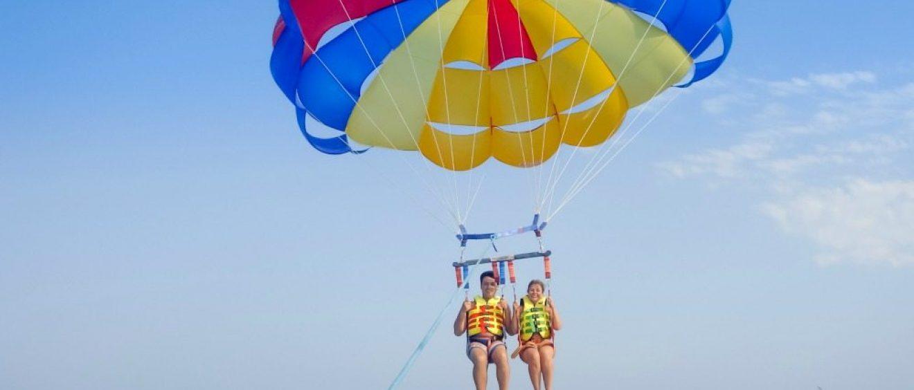 history of parasailing