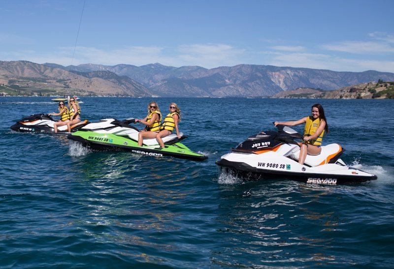 Jet Ski Rentals Lake Chelan Chelan Parasail Amp Watersports