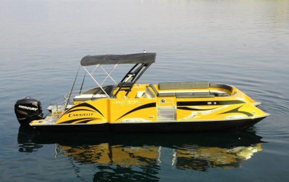 Lake Chelan Pontoon Boat Rentals Chelan Parasail